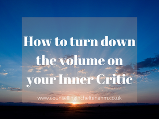 How to turn down the volume on your Inner Critic.