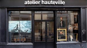 façade de la galerie Hauteville
