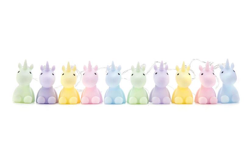 Dhink Unicorns String Gece Lambası