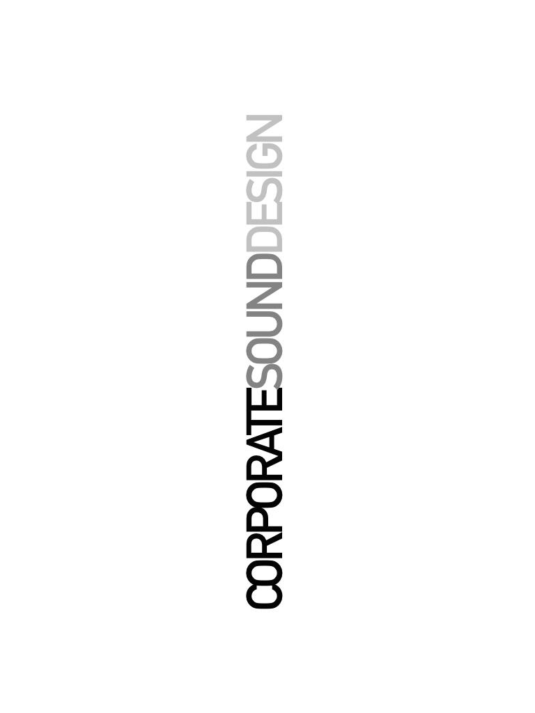 CORPORATE SOUND DESIGN