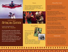 African Safari Brochure-inside