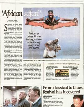 African Safari Article