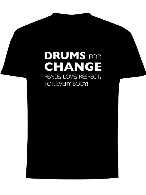 Drums for Change -Tshirt