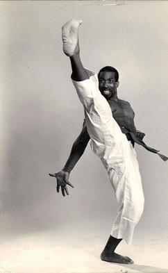 Akwesi Theatre Karate Kick