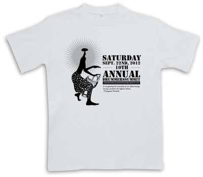 Drummers Summit t-shirt