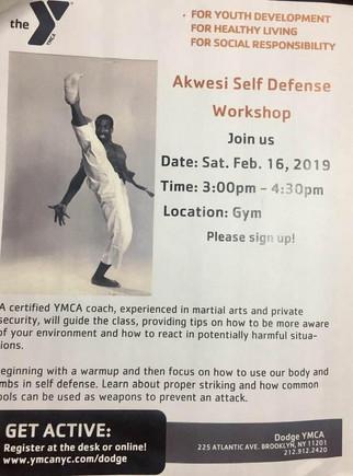 Akwesi's Self-Defense Workshop