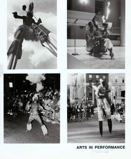 Akwesi Stilt Walking