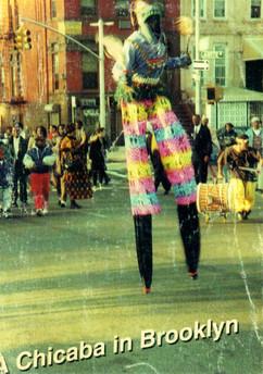 Akwesi Stilt Walking @ Bam