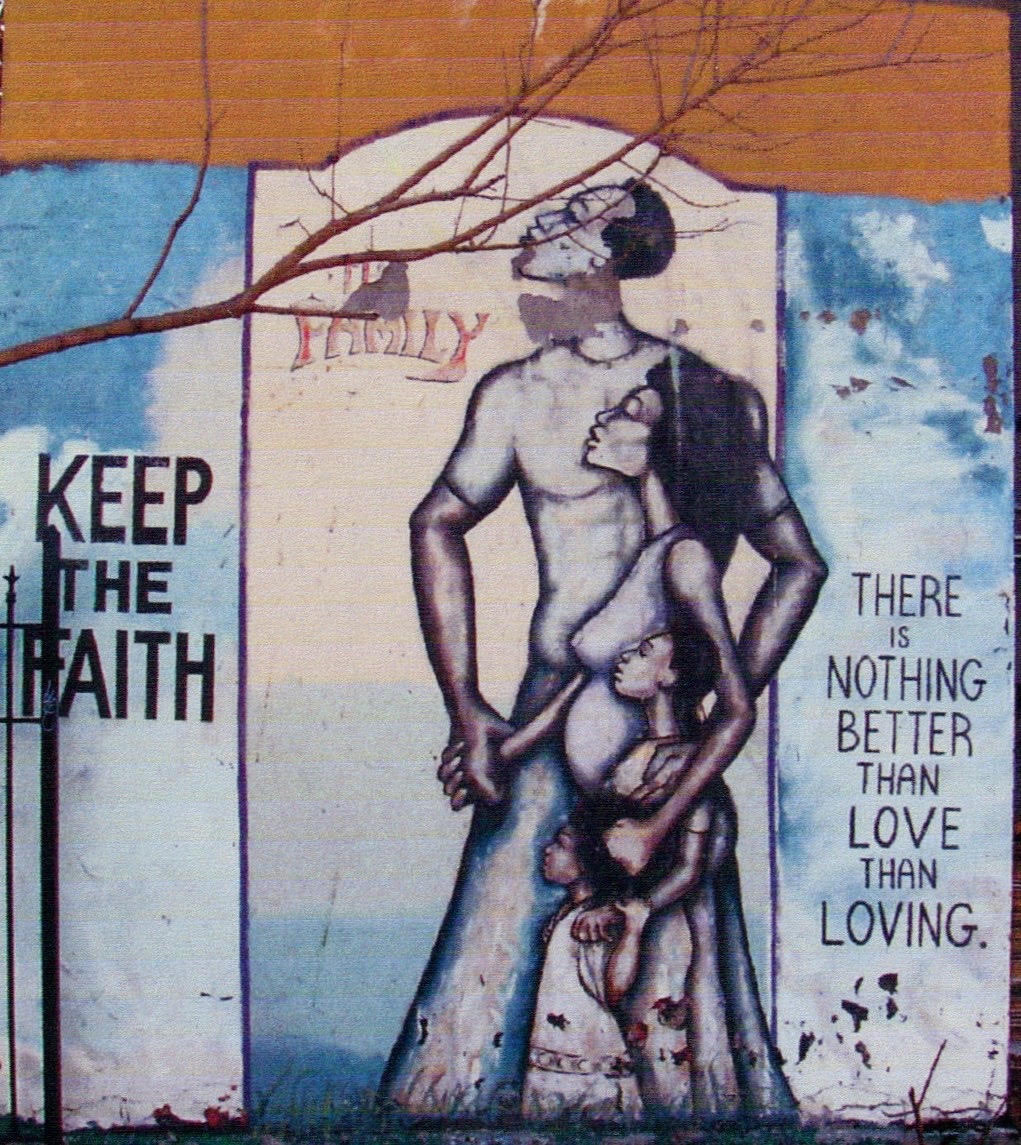 Keep The Faith Mural