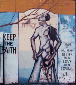 Keep The Faith Mural