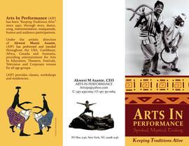 African Safari Brochure - Outside