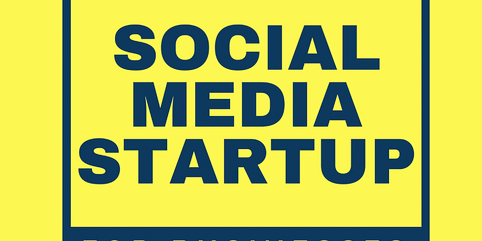 Bracknell Social Media Startup for Business - March 2020