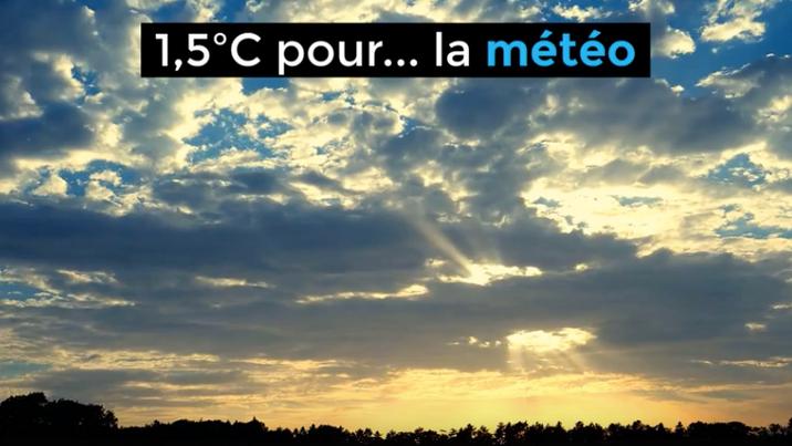 1,5ºC pour... la météo