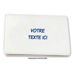 Porte-cartes blanc à partir de 0,39 € HT (prix unitaire par 2000)