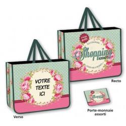 Sac shopping modèles panachés à partir de 1,60 € HT (prix unitaire par 500)