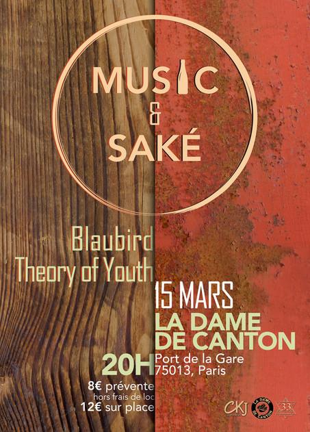 MUSIC & SAKÉ IS BACK