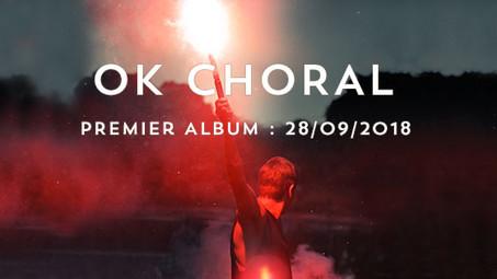 Sortie de l'album d'OK CHORAL