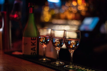 Une soirée riche en Music & Saké