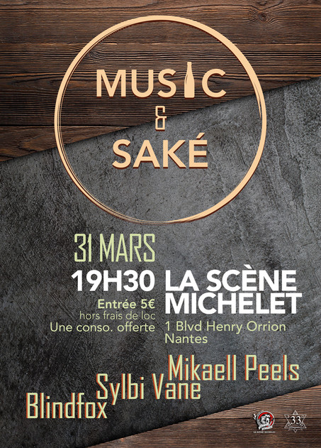 Music & Saké à Nantes !