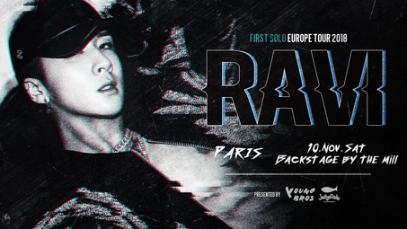 RAVI FIRST SOLO EUROPE TOUR