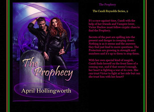 The Prophecy (The Candi Reynolds Series, 2) has arrived: