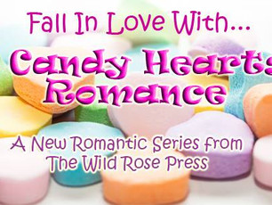Fall in love with A Candy Hearts Romance book, the perfect Valentine's short novella reads <3