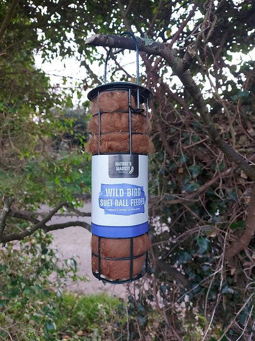 Raw Fleece Bird Nesting Material Dispenser