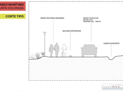 #PuntaColorada - Contraproyecto vecinal a la doble vía de Antía que tendría impactos irreversibles