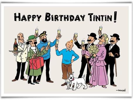 Y Tintín cumple 92 años...