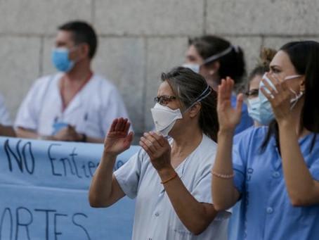 Desde hoy en España el COVID-19 en los trabajadores de la salud es enfermedad profesional