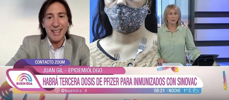 #Gil – Miembro GACH se retractó de sus dichos sobre el efecto imán de la vacuna Pfizer
