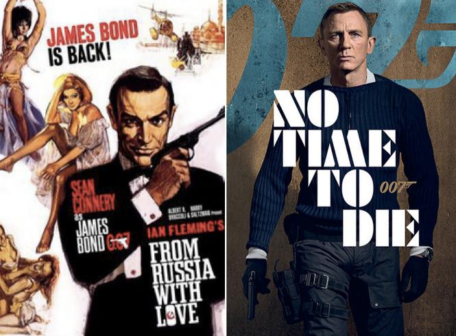 Las muchas caras de Bond