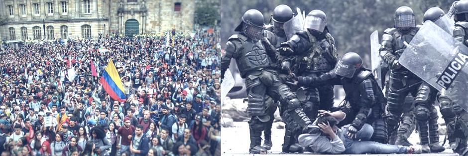 Colombia: gobierno busca bajarle el tono al reclamo social y subírselo a la confrontación
