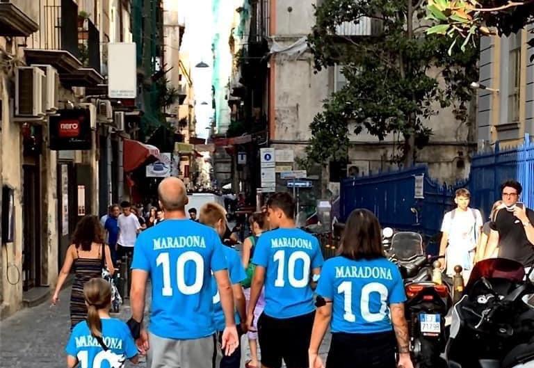 Napoli una tarde cualquiera