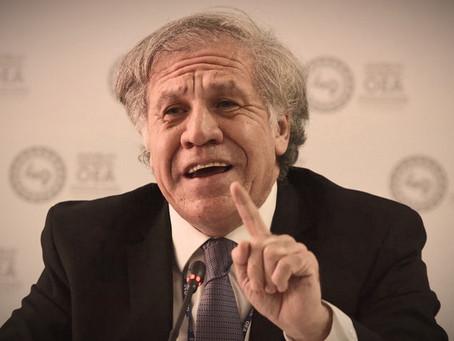 """Almagro sobre Chile: """"duele que casi el 80% pretenda pisotear la Constitución""""."""