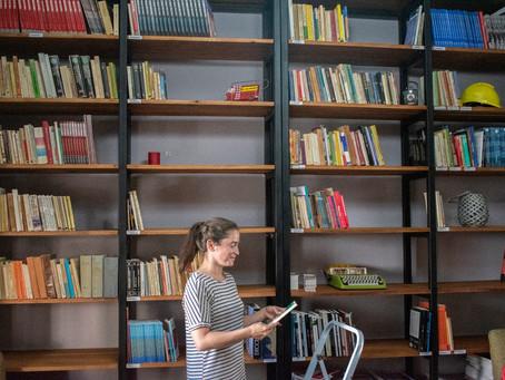 Despegadísimo el  SUNCA: biblioteca y algo más