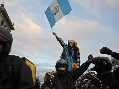 Las protestas sociales detienen el Presupuesto en Guatemala
