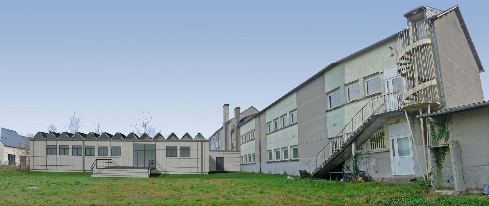 PAUL BOUET ARCHITECTE - COLLEGE LA PROVIDENCE - MONTAUBAN DE BRETAGNE