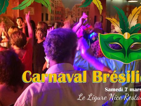 Dîner dansant « Carnaval Brésilien » à Nice