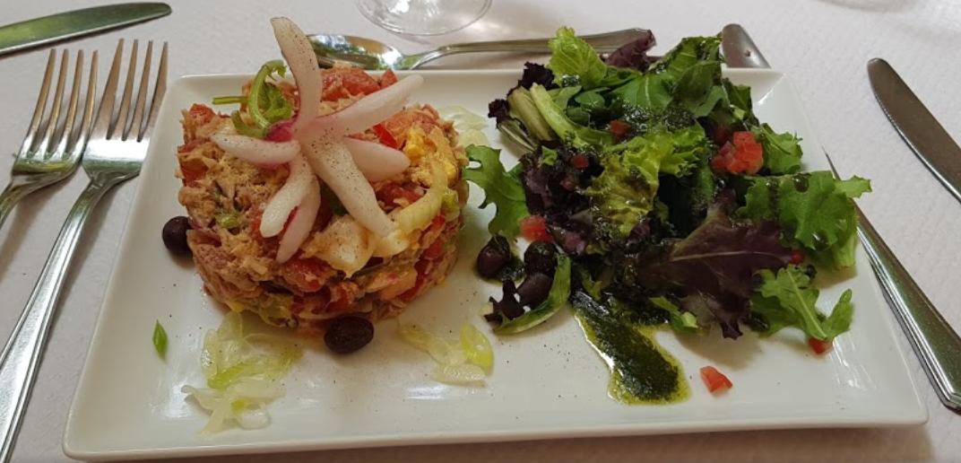Salade niçoise du Ligure