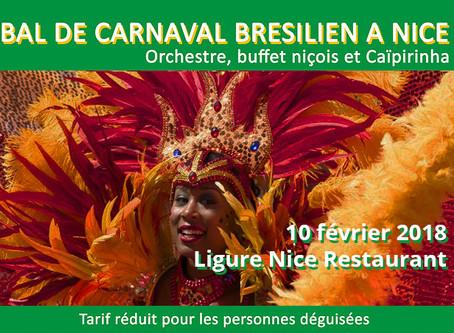 Le carnaval de Rio revient à Nice !