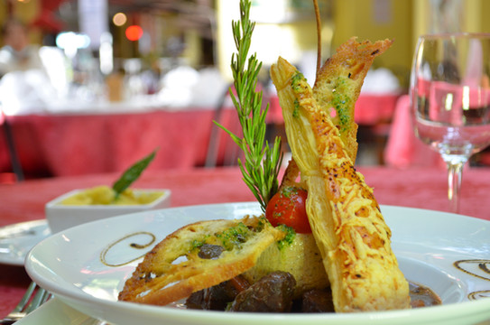 Daube de bœuf du Ligure, polenta