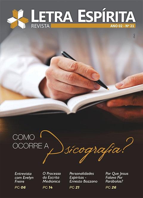 REVISTA LETRA ESPÍRITA - Ed 21