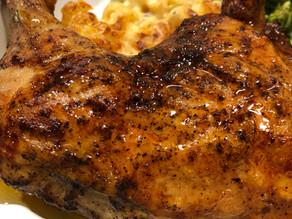 Honey Glazed Java BBQ Chicken