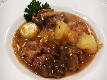 Country Lamb and Beer Stew