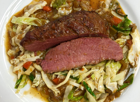 Braised Corned Beef and Cabbage