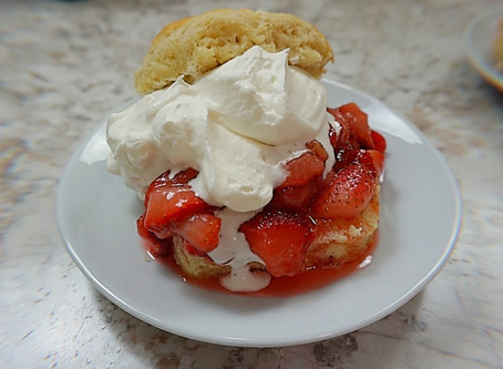 The Best Ever Strawberry Shortcake