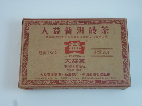 Dayi 7562 Ripe Pu-erh Tea Brick