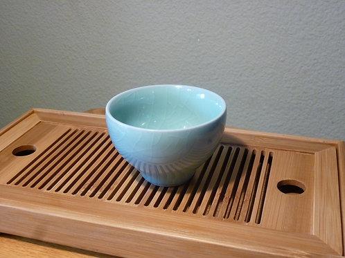 Crackle Glaze Tea Cup