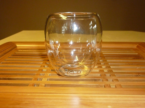 double glass cup